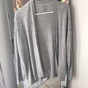 American Eagle plush cardigan sweater